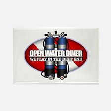 Open Water Diver (Scuba Tanks) Magnets