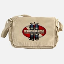 Open Water Diver (Scuba Tanks) Messenger Bag