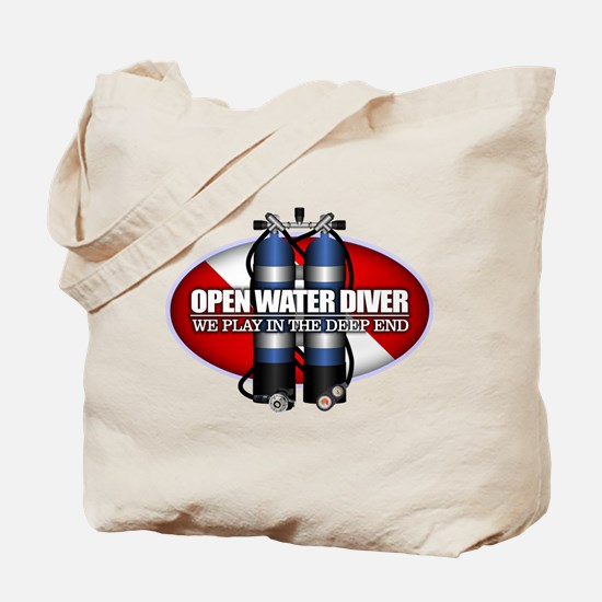 Open Water Diver (Scuba Tanks) Tote Bag