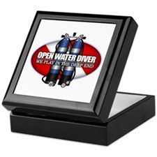 Open Water Diver (Scuba Tanks) Keepsake Box