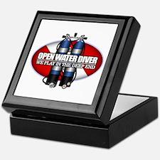 Open Water Diver (Scuba Tanks) Keepsake Box