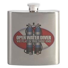 Open Water Diver (Scuba Tanks) Flask