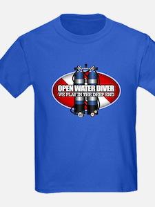 Open Water Diver (Scuba Tanks) T-Shirt
