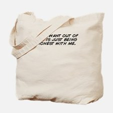 Funny Just when i thought i out Tote Bag