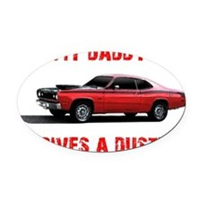 mydaddy Oval Car Magnet