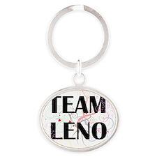 team leno Oval Keychain
