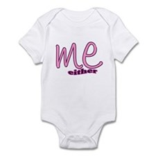 Me Either Infant Bodysuit