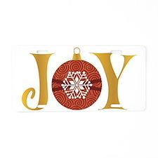 Joy/Ornametn Aluminum License Plate