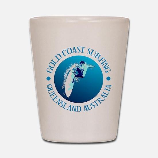Gold Coast Surfing Shot Glass