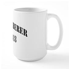 tabberer black letters Mug