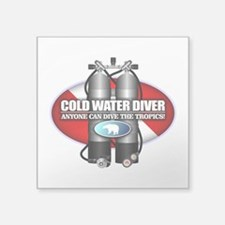 Cold Water Diver (ST) Sticker