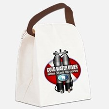Cold Water Diver (ST) Canvas Lunch Bag