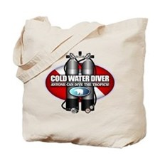 Cold Water Diver (ST) Tote Bag