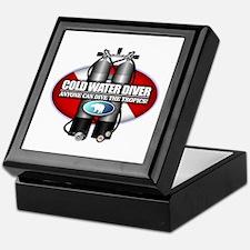 Cold Water Diver (ST) Keepsake Box