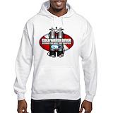 Cold water scuba diver Hooded Sweatshirt