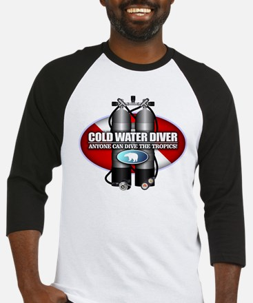 Cold Water Diver (ST) Baseball Jersey