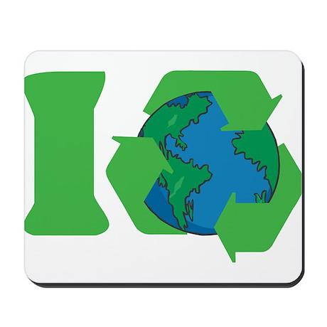 I Recycle Mousepad