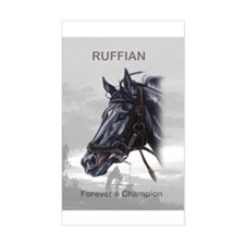 Ruffian Rectangle Decal