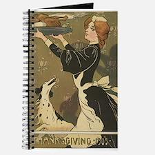 Vintage Thanksgiving Victorian Turkey Journal