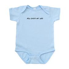 Funny Leg Infant Bodysuit
