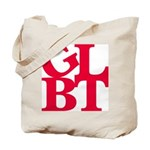 GLBT Red Pop Tote Bag