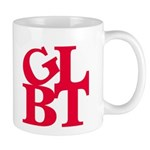GLBT Red Pop Mug
