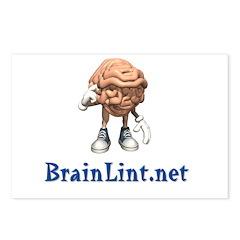 BrainLint.Net Postcards (Package of 8)