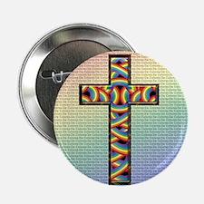 Woven Cross 2.25&Quot; Button (10 Pack)