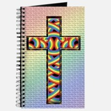 Woven Cross Journal