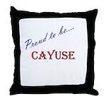 Cayuse Throw Pillow