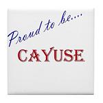 Cayuse Tile Coaster