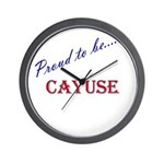 Cayuse Wall Clock
