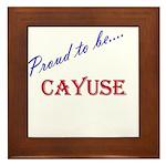 Cayuse Framed Tile