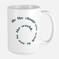 BE THE CHANGE Mugs