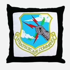 Strategic Air Command Throw Pillow