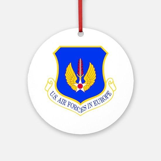 USAF Europe Ornament (Round)