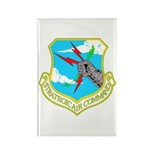 Strategic Air Command Rectangle Magnet