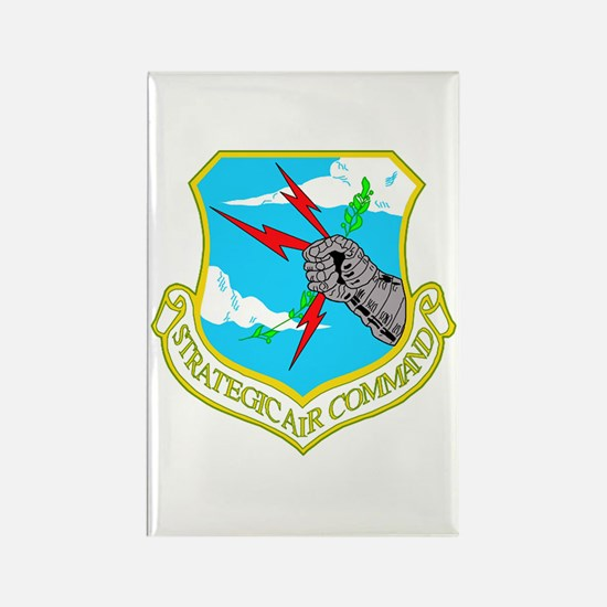Strategic Air Command Rectangle Magnet