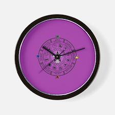 Wheel of the Year Zodiac Sabbats Wall Clock