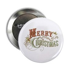 Merry Christmas 2.25&Quot; Button