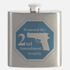 Protected By: 2nd Amendment Security Flask
