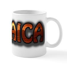 JAMAICA Text Montego Bay Sunset Photo Small Mug