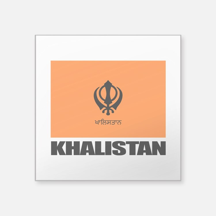 Khalistan Sticker
