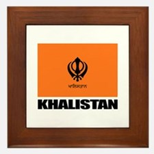 Khalistan Framed Tile
