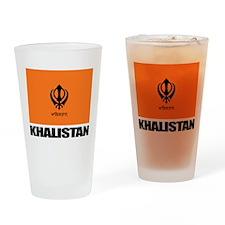 Khalistan Drinking Glass