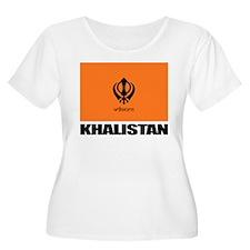 Khalistan Plus Size T-Shirt