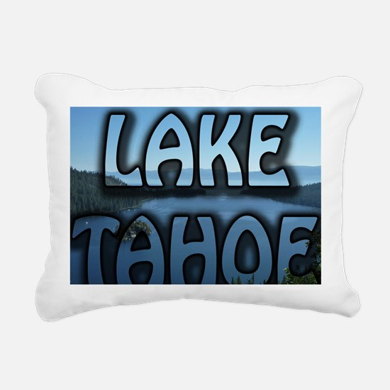 Lake Tahoe Emerald Bay P Rectangular Canvas Pillow