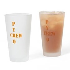 Pyro Crew Drinking Glass