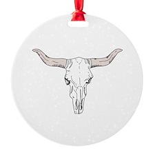 Bull Head Ornament