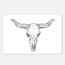 Bull Head Postcards (Package Of 8)